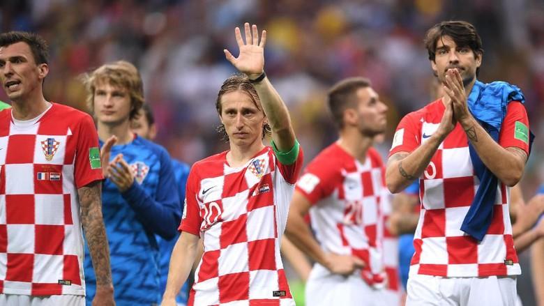 Modric Tak Ada Penyesalan, Kroasia Lebih Baik dari Prancis